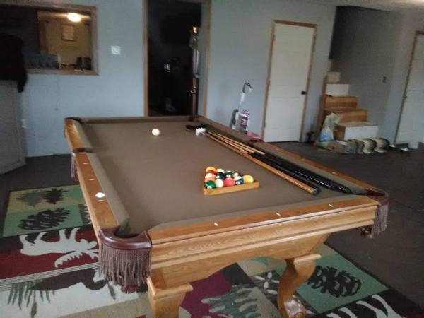 "Rick-""Very Satisfied with the pool table I purcheased fro the Pool Boss! Very professional, friendly and reliable, Can't wait till summer for him to install a swimming pool for my family. I Definitely will be referring him to family and friends."
